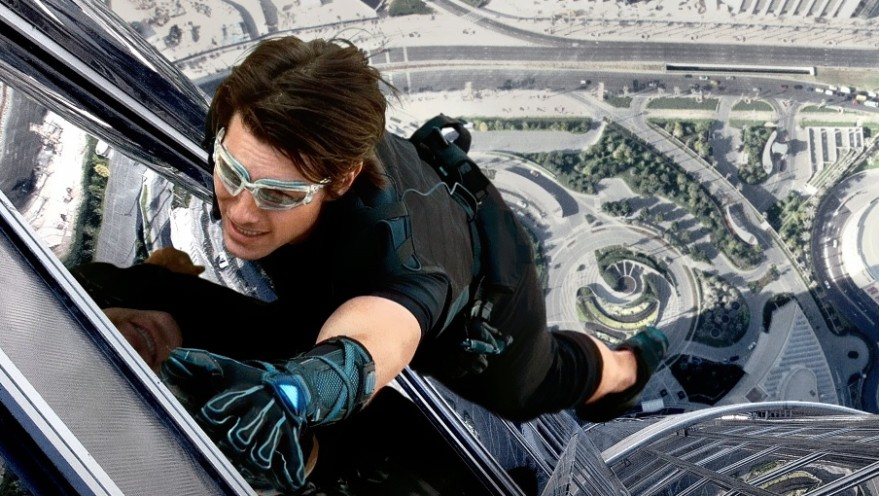 A look back on Tom Cruise's action alter-ego, Ethan Hunt, star of the Mission Impossible franchise. Hunt straps on his adhesive gloves and takes to the word's tallest building in Mission Impossible: Ghost Protocol.
