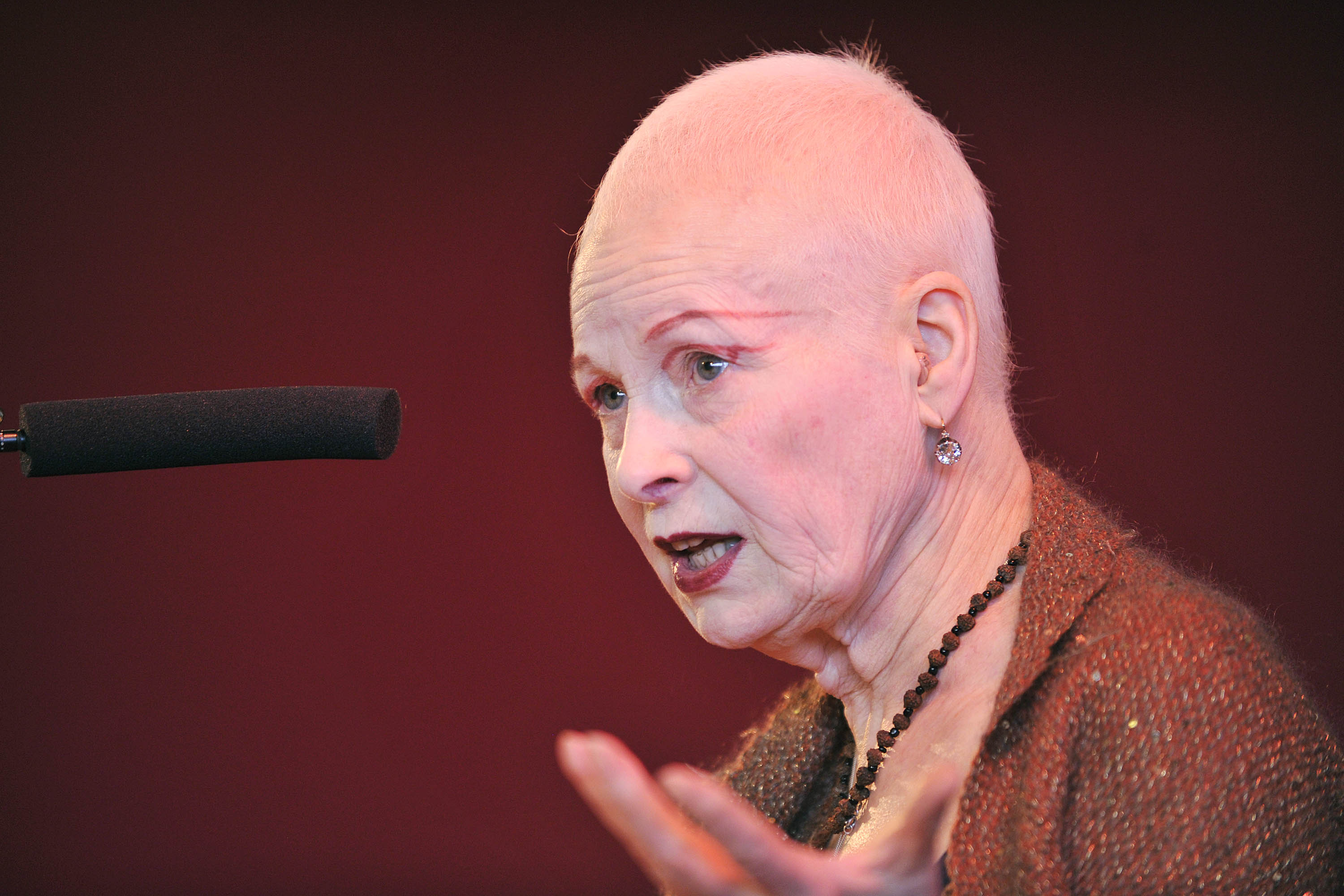 Vivienne Westwood. Photo: Flickr, Southbank Centre.
