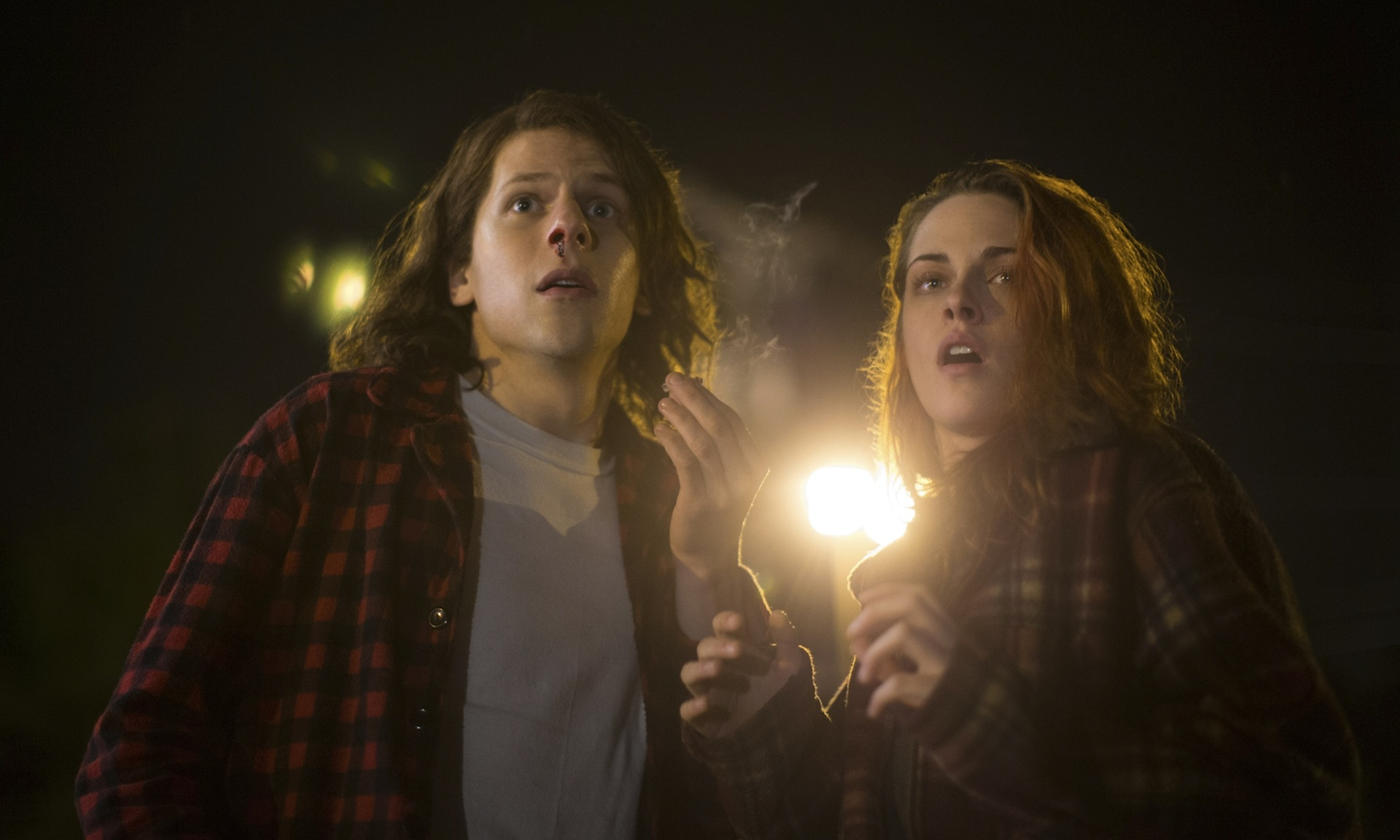 Kristen Stewart and Jesse Eisenberg team up in American Ultra.