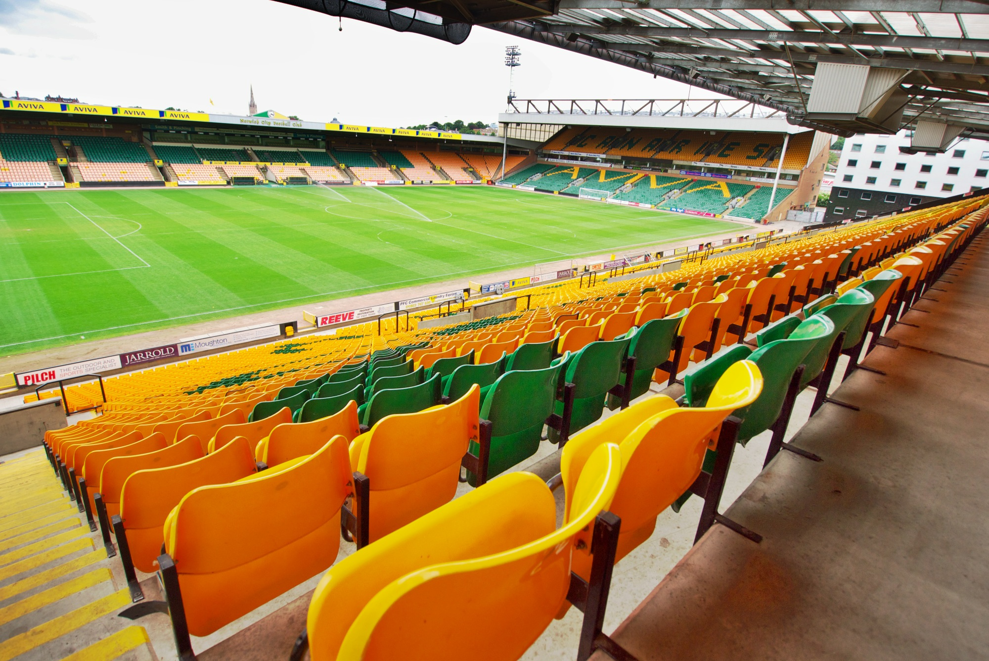 Carrow Road. Photo, Pittaya Sroiliong, Flickr.