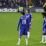 Diego Costa Free Kick. Photo, Wikimedia