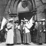 Suffragettes. Photo: Johnny Cyprus, Wikimedia