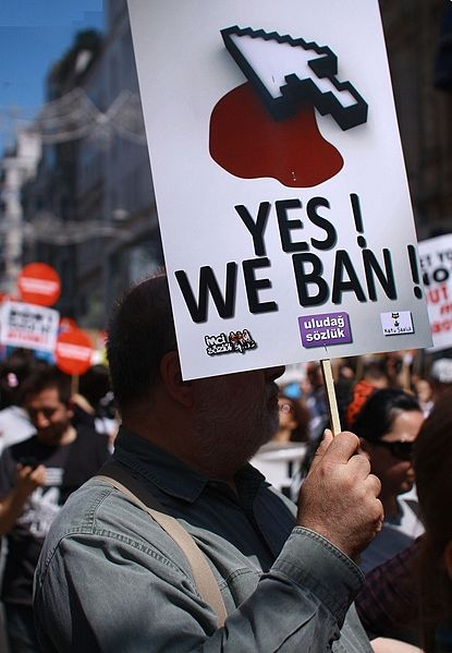 Turkey internet protests. Photo: Erven Civerek, Wikimedia