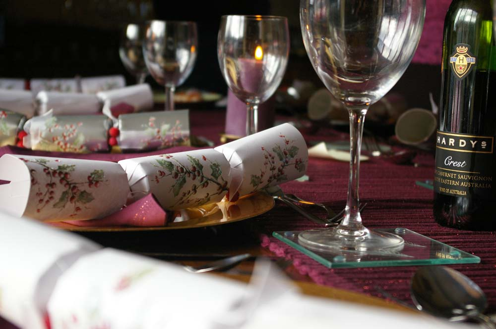 Christmas crackers. Photo: Amelia Wells, Wikimedia