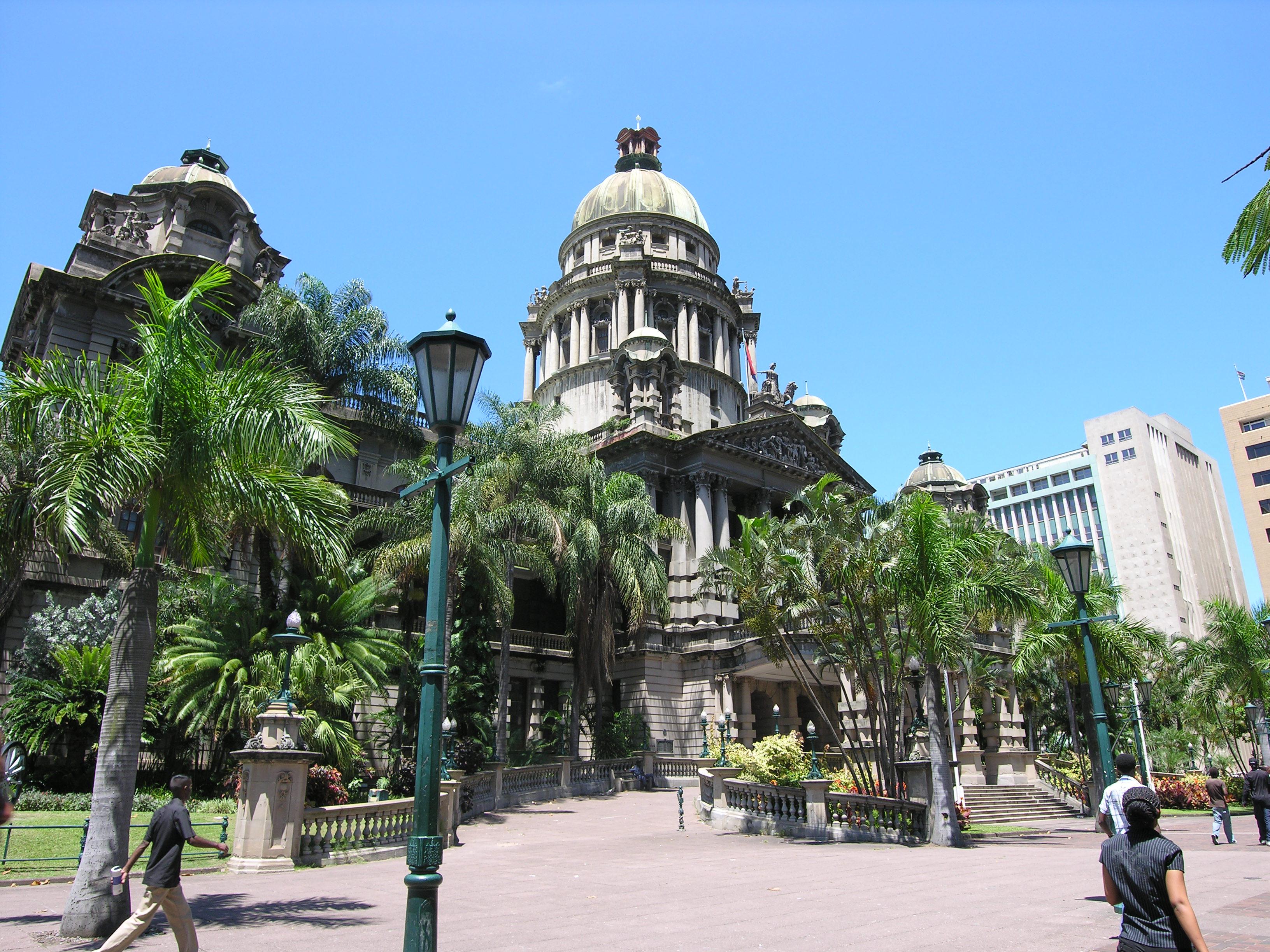 Durban Town Hall. Photo: Chris Eason, Flickr