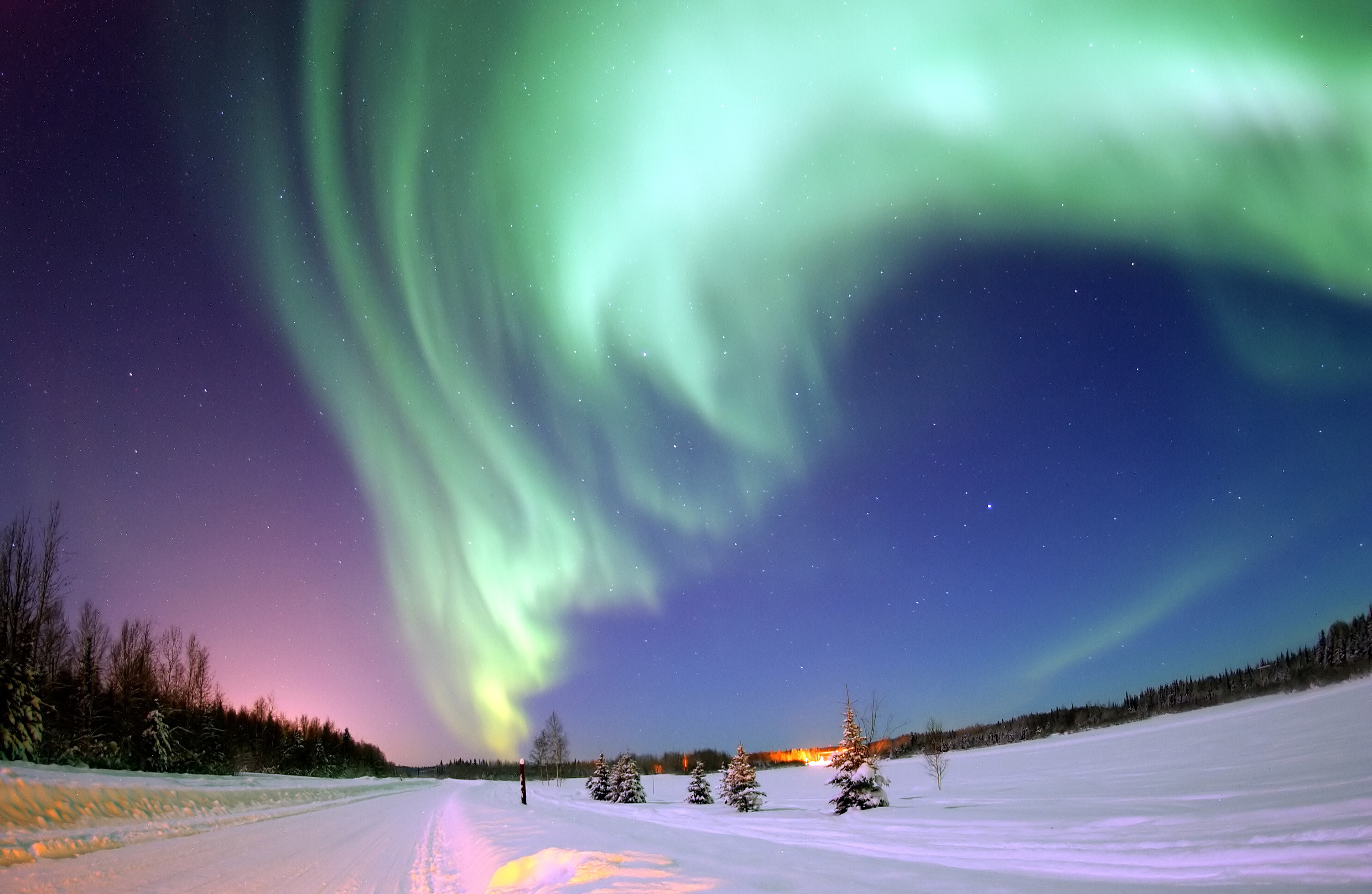 Northern Lights in Lapland. Photo: Flickr.