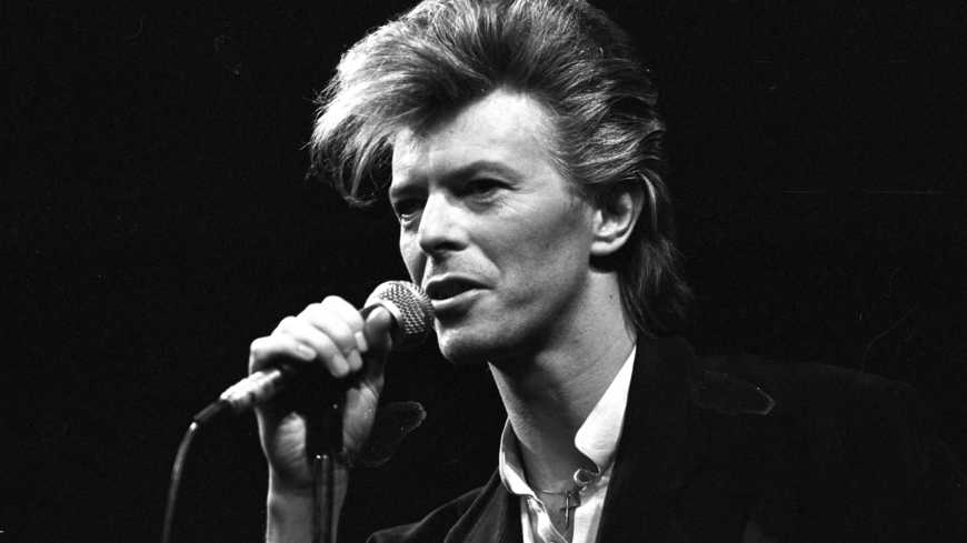David Bowie. Photo: Francebleu.com