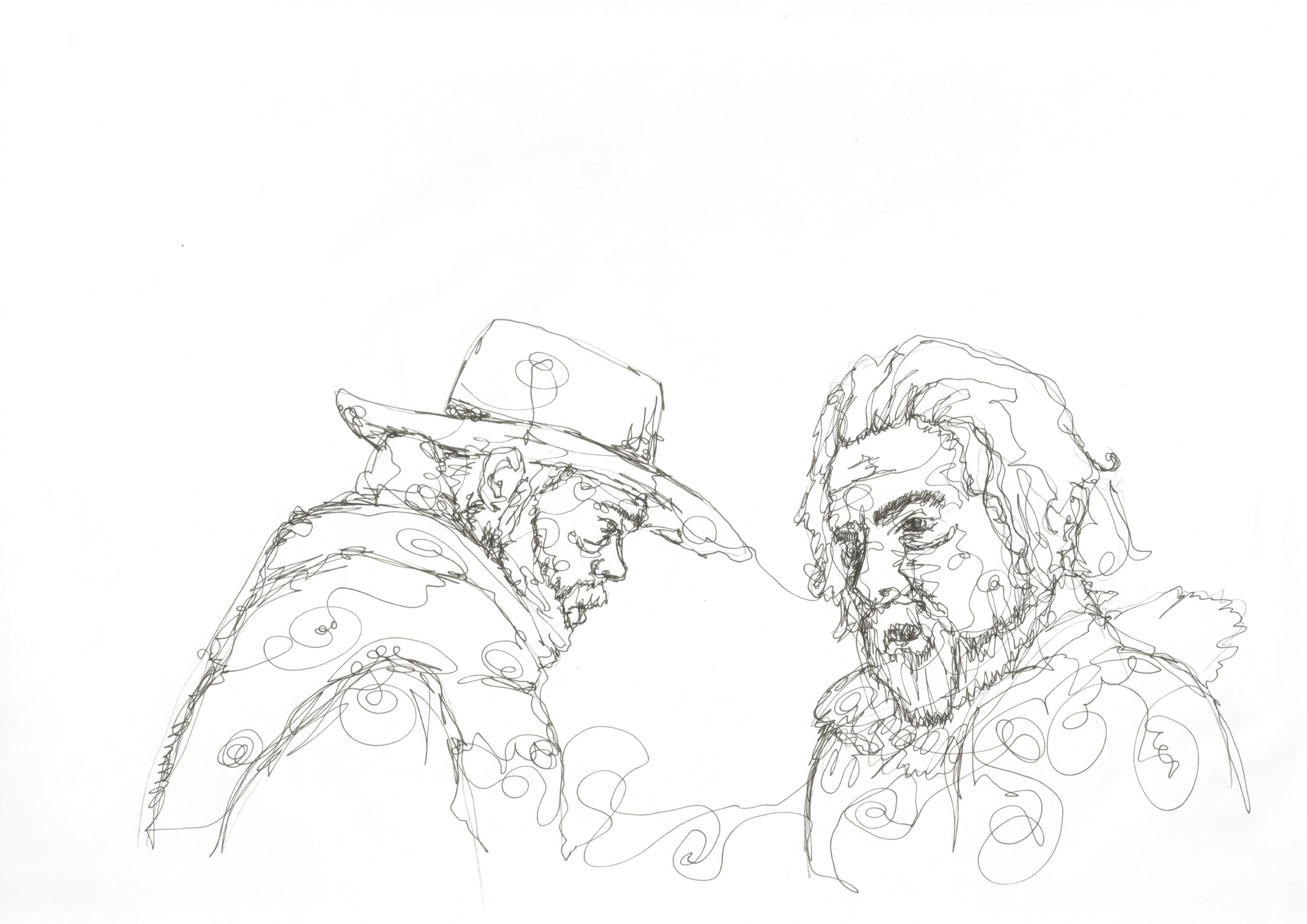 Hateful Eight. Illustration: Dougie Dodds for Concrete