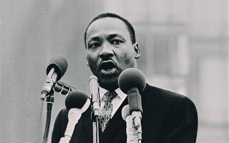 Martin Luther King. Photo: Wikimedia, Nasa