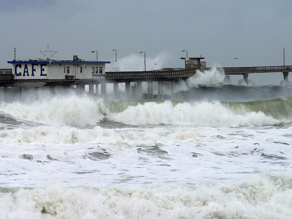 Flooding and bad weather. Photo: Wikipedia, Gemainfrei