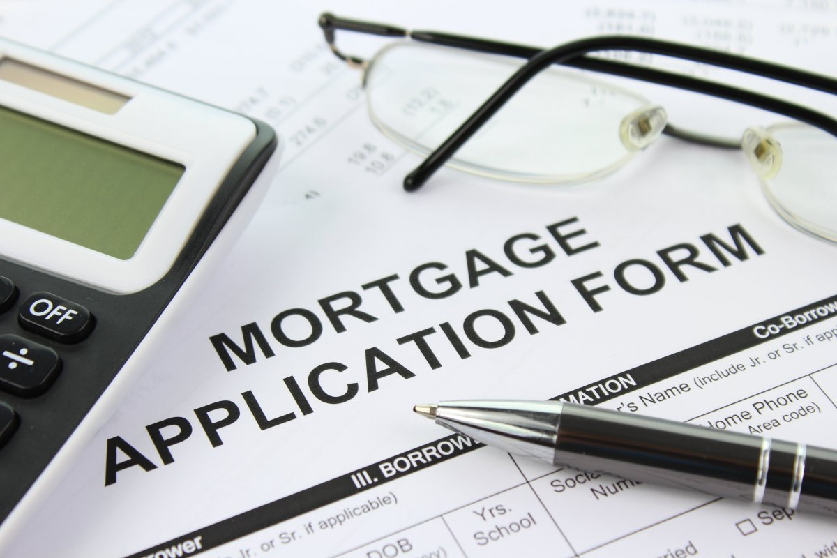 Mortgage application form. Photo: Picserver, nyphotographic