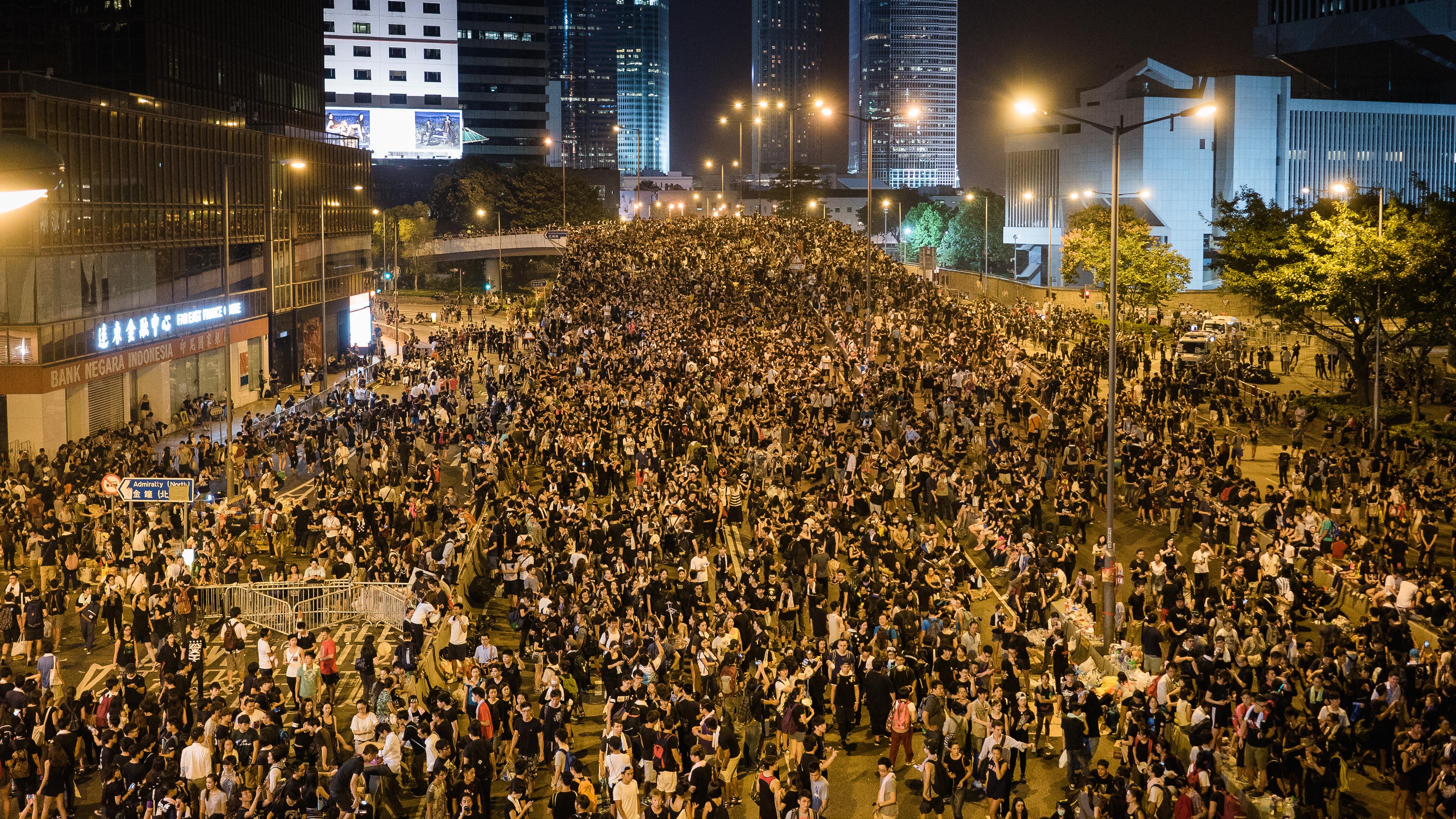 Hong Kong Umbrella Revolution. Photo: Wikimedia, Pasu Au Yeung
