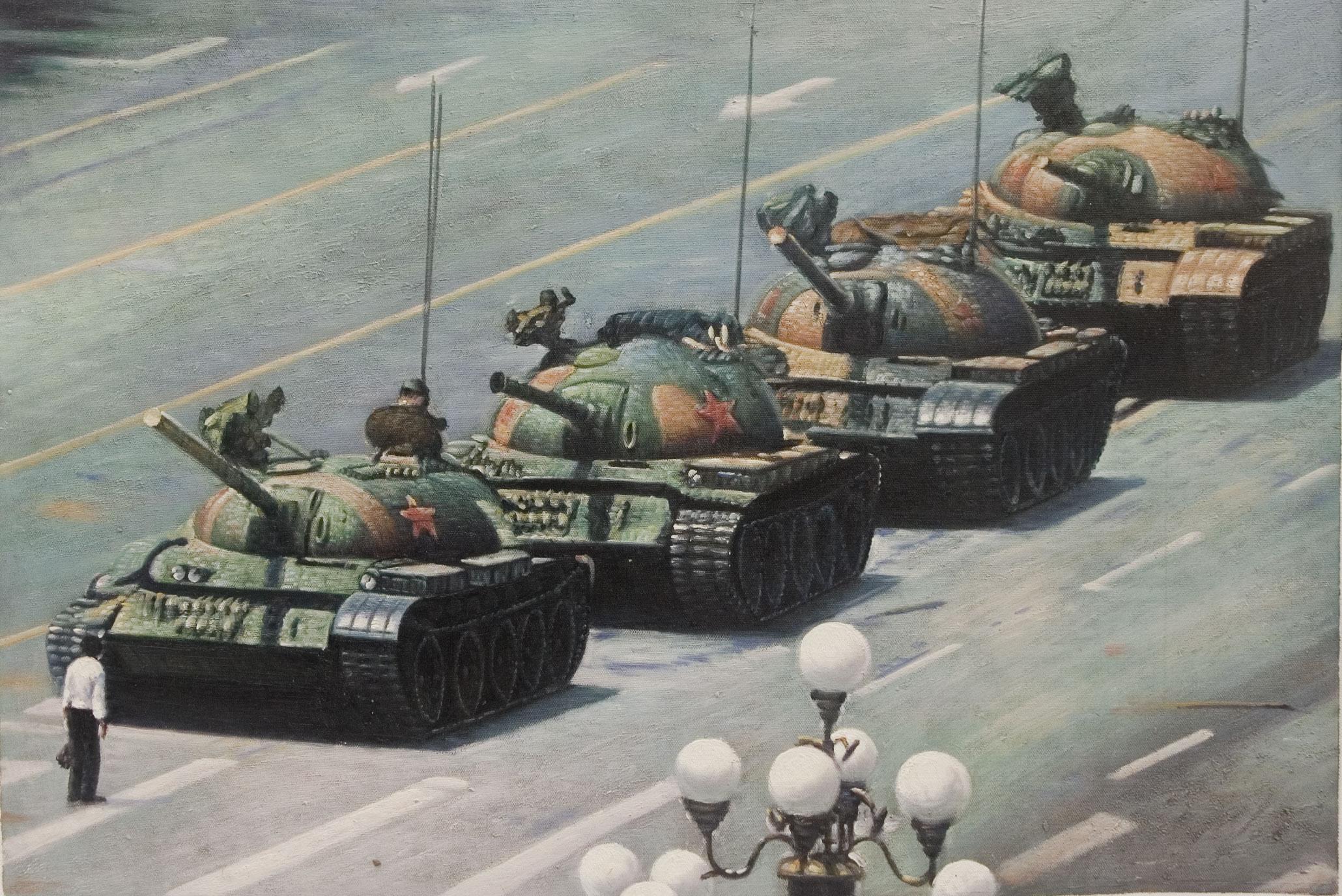 Tank Man Image. Photo: Flickr.