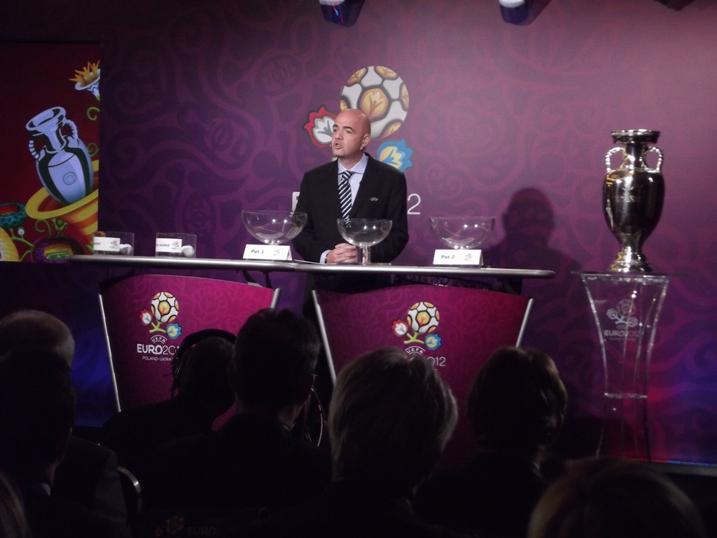 Gianni Infantino is the new Fifa president. Photo: Flickr, Piotr Drabik