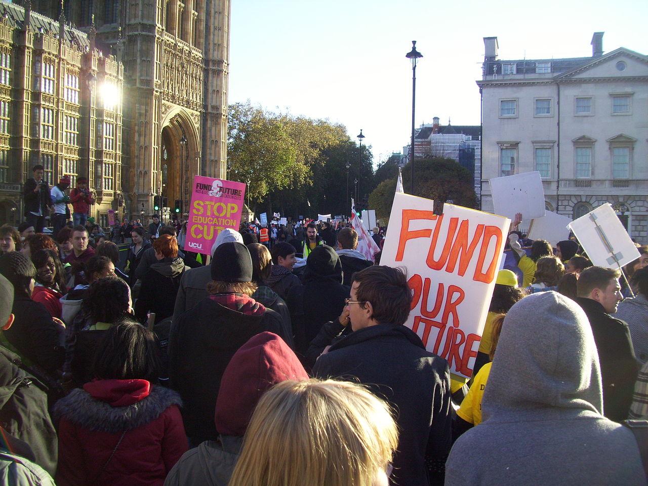 Student Protest. Photo: Wikimedia, BillyH