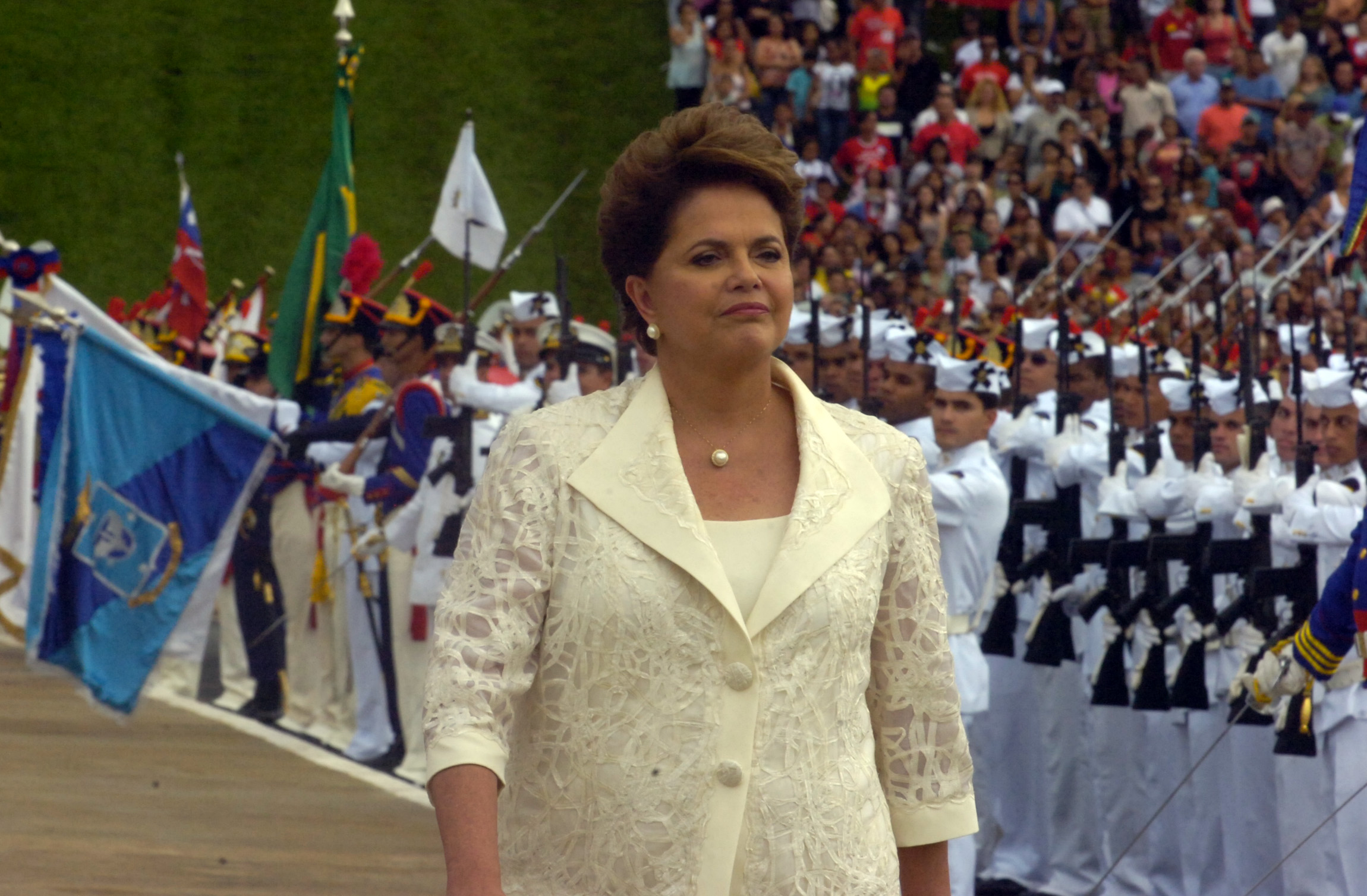 Dilma Rousseff. Photo: Flickr, Senado Federal