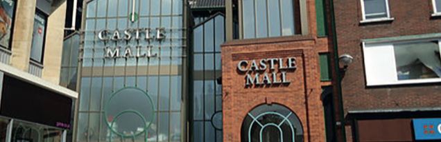 Castle Mall had a fire scare Photo: GeoGraph