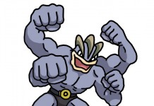 Machamp illustrated by Dougie Dodds