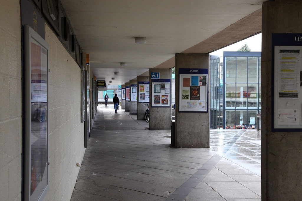 UEA Union House, Photo: Flickr, Glenn Wood