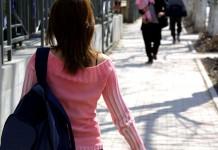 Woman walking, public-domain-image.com