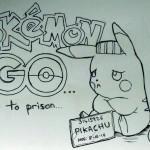 Pokemon Go illustration by Dougie Dodds
