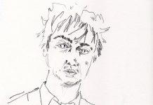 Pete Doherty illustrated by Mandi Johnson