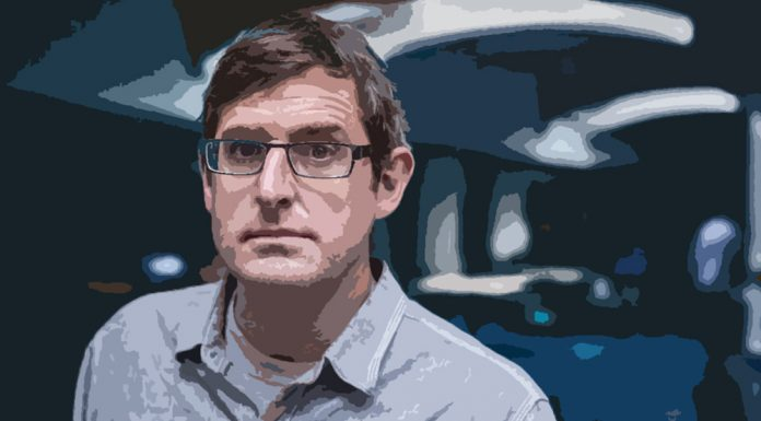 Louis Theroux illustrated by Denise Koblenz