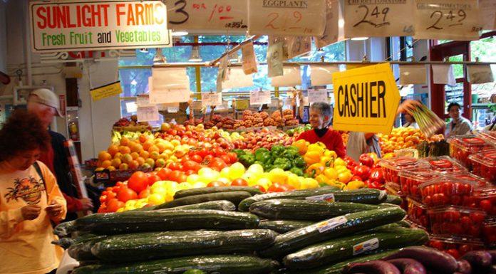 vegetable stall, flickr, Hillbraith