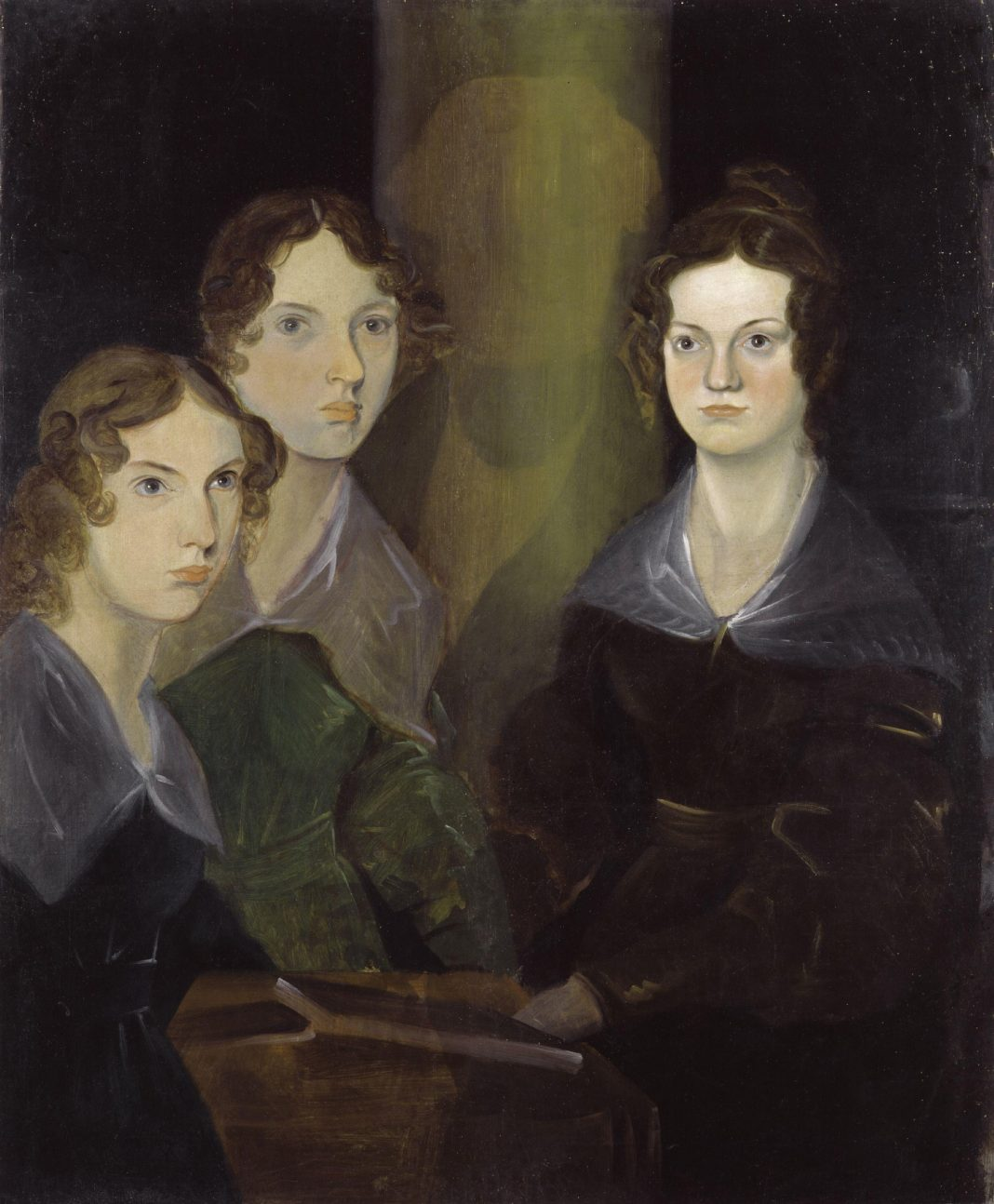 Bronte sisters, Wikimedia, National Portrait Gallery
