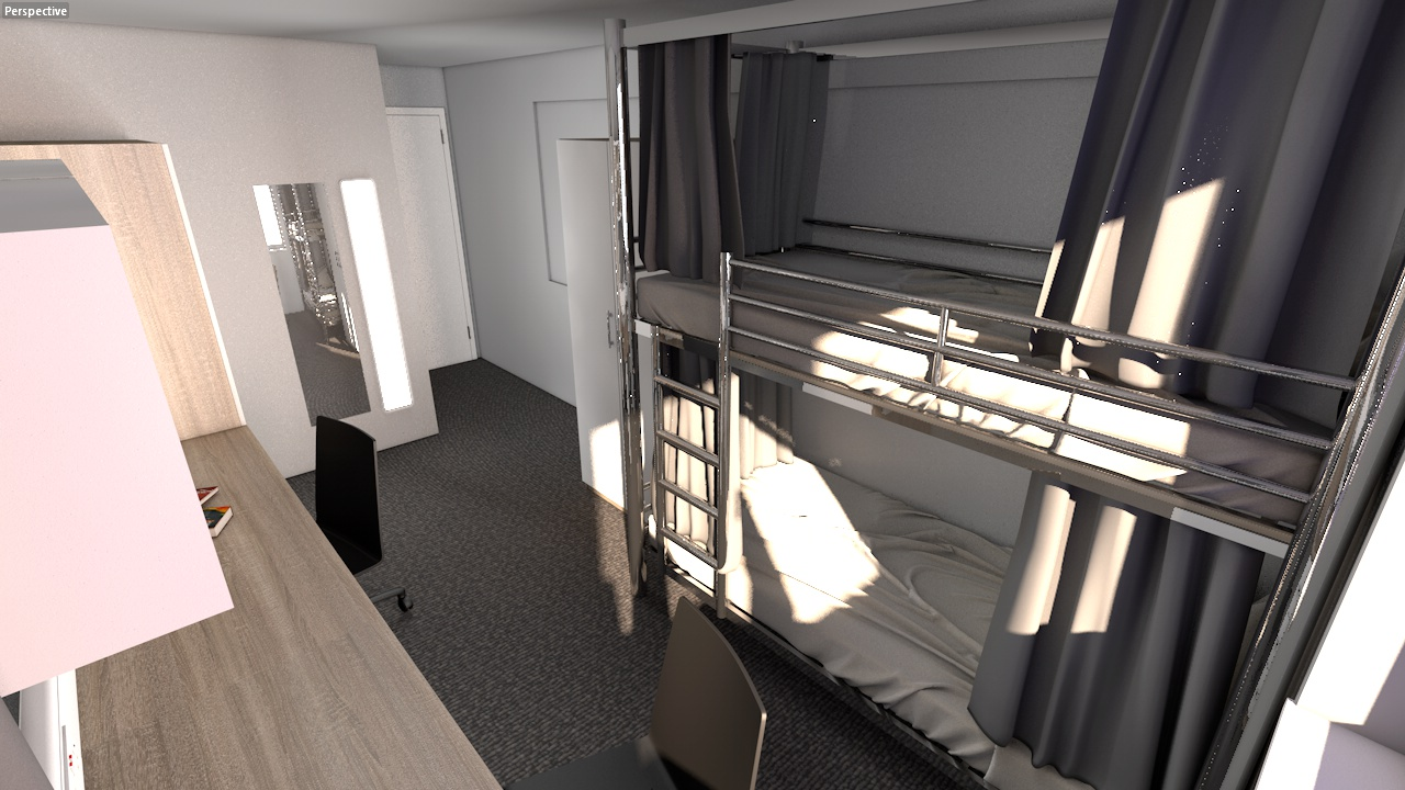Students To Sleep In Bunk Beds Due To Accommodation Shortage Concrete