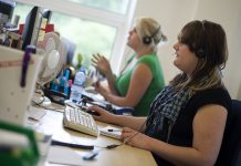 Call Centre, The Open University, Flickr