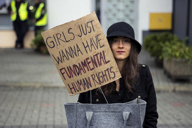 Czarny Protest, Iga Lubczańska, Flickr