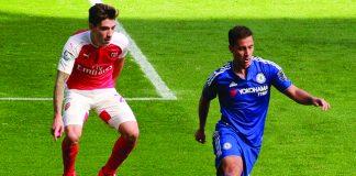 Bellerin & Hazard, commons.wikimedia.org, Chelsea Debs