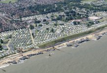 Hopton beach, where £50m of cocaine washed up- Flickr.com, John Fielding