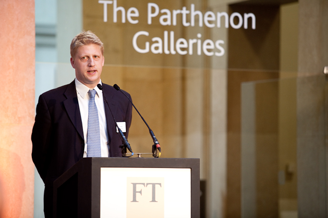 Universities minister Jo Johnson, who announced the sale of student loans: wikipedia.org, public domain