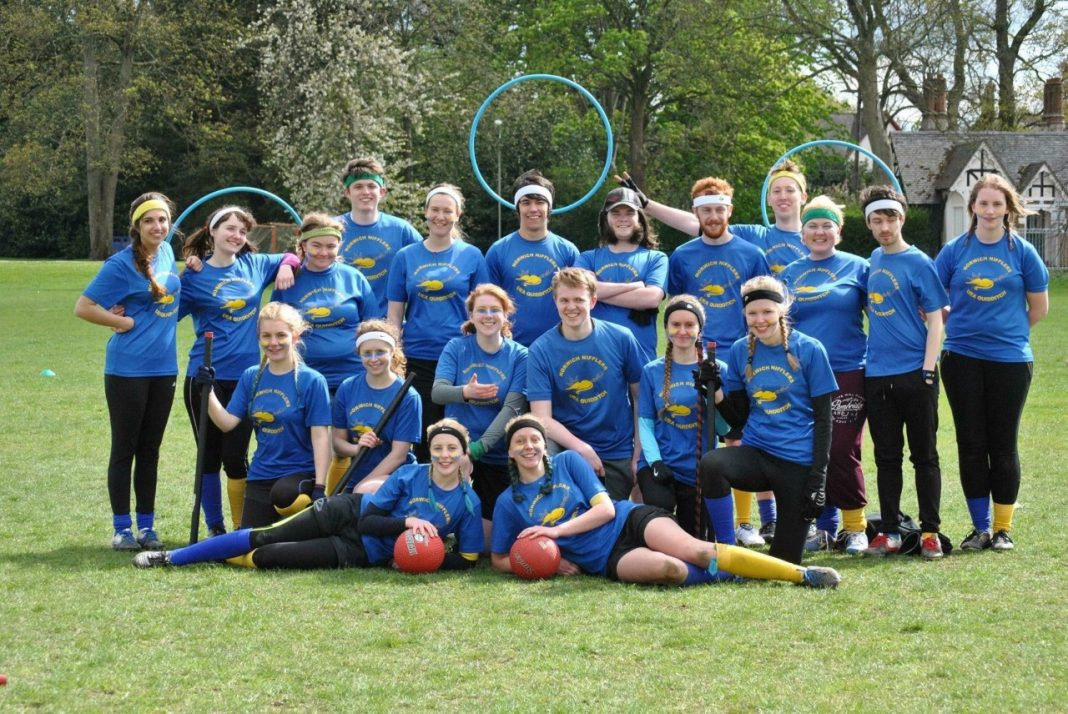 UEA Quidditch Team, the Norwich Nifflers: Rowena Haigh