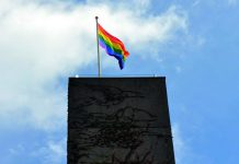 Pride flag, UEA press office