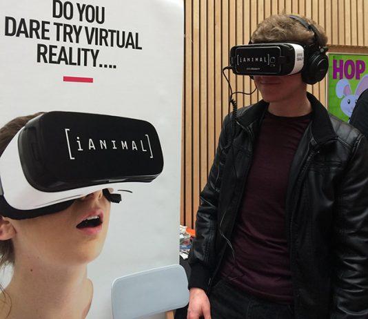 virtual reality abbatoir, Emily Hawkins