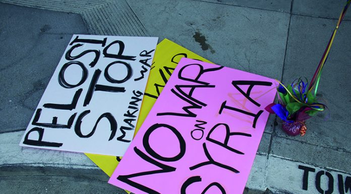 No war with syria protest, Steve Rhodes, Flickr