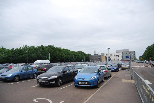 UEA car park: Geograph.org.uk, N Chadwick