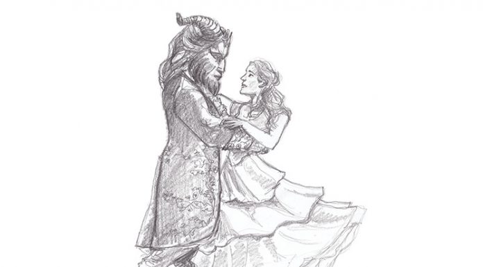 Beauty and the Beast: illustrated by Louis Pigeon-Owen