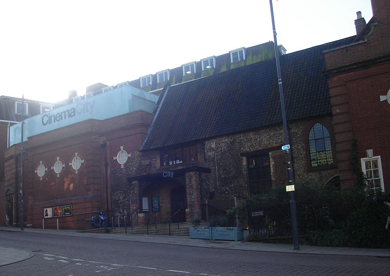Cinema City, Norwich. Northmetpit, Wikimedia.