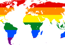 rainbow world map gay by janeb13 on pixabay