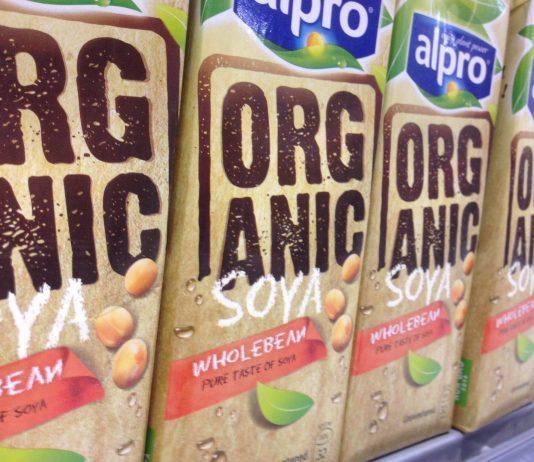 alpro soy milk by Health Gauge on flickr
