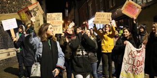 reclaim the night, chloe howcroft