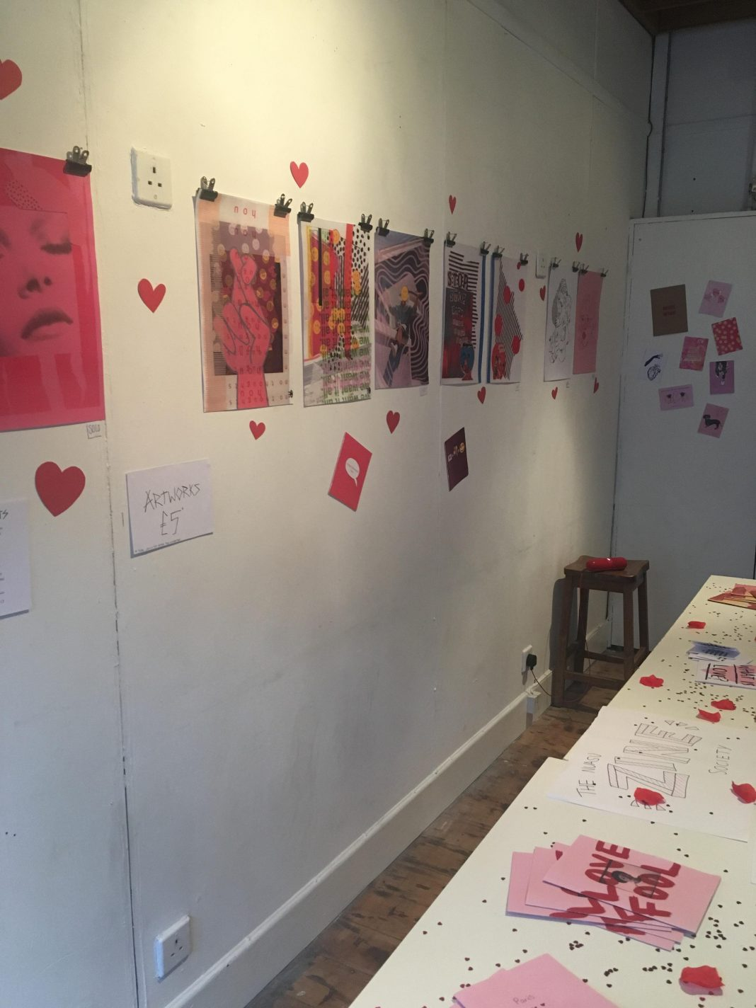 nua zine exhibition by jacob chamberlain