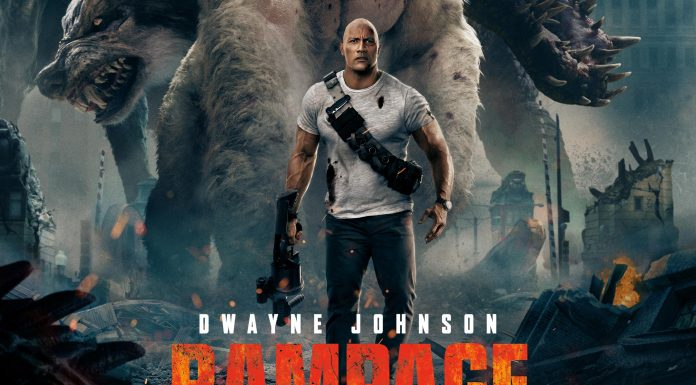 rampage movie poster, from visual cocaine