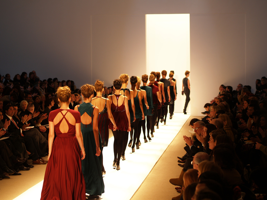 fashion week runway by Peter Duhon on flickr (via Art Comments)