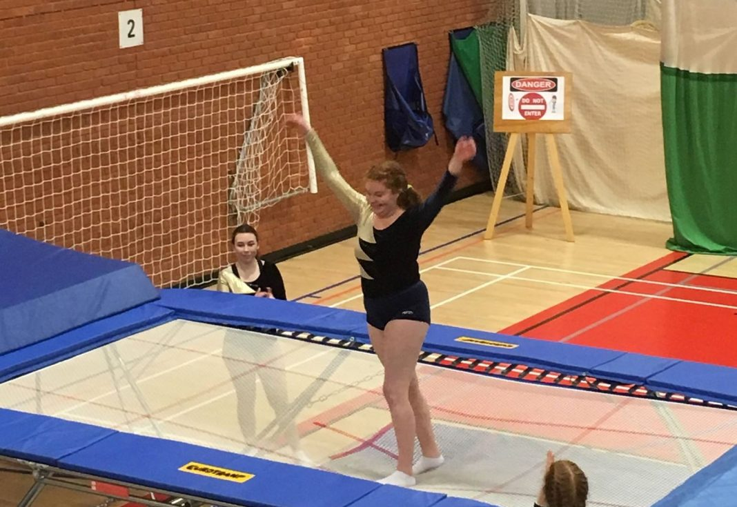 uea trampolining derby day. photo credit: uea lacrosse derby day
