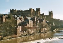 durham castle by Neitram, Wikimedia
